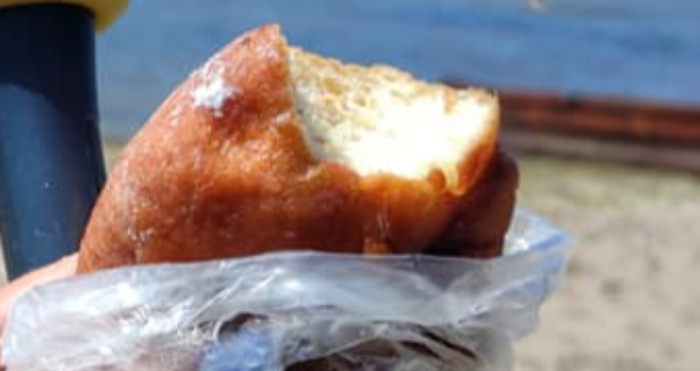 Світязький пончик. Фото Лариси Андрійчук