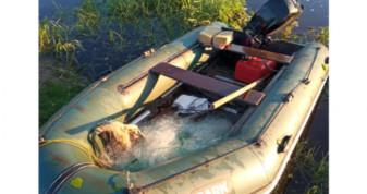 Під час рейду виявили зв'язку рибальських сіток