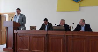 Дев'ята сесія Маневицької селищної ради