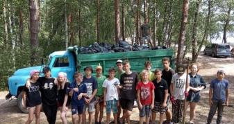 Діти зініціювали екологічну толоку
