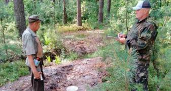 Державна екологічна інспекція Поліського округу перевіряє чорничників