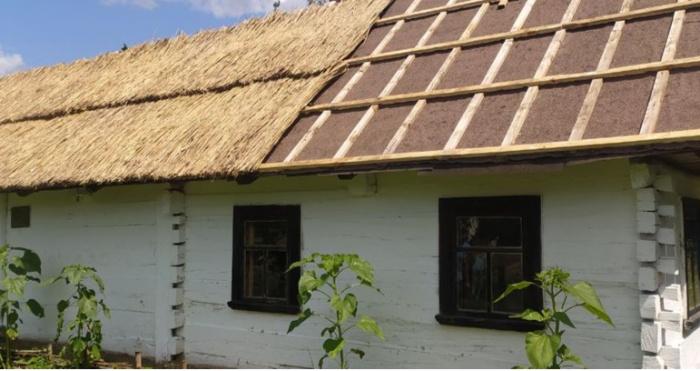 Будинок з Шаччини у Рокитненському музеї