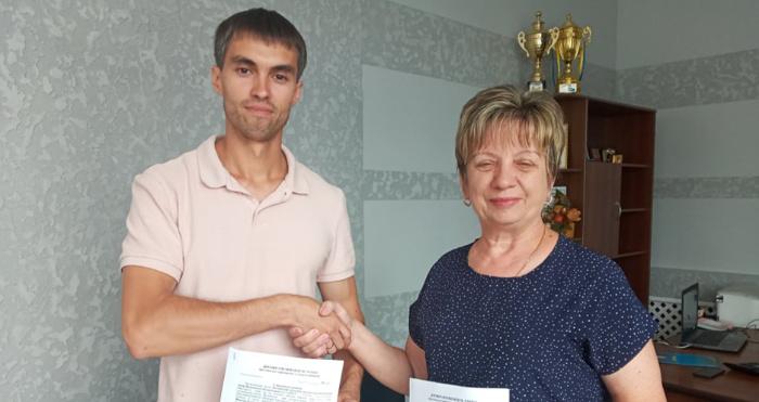 Шацький селищний голова, підписав меморандум про співпрацю громади з Волинським обласним еколого-натуралістичним центром