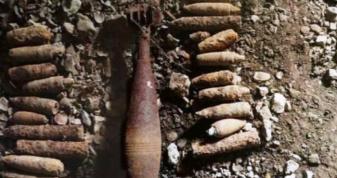 На Володимирщині діти знайшли боєприпаси часів Другої світової війни