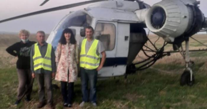 Десять років знятий з обліку: у Великій Омеляні розслідують забруднення земель з гелікоптера