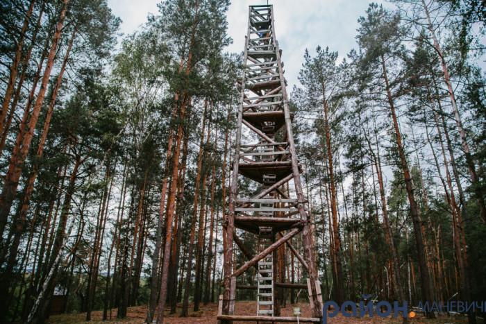 Вишку збудували лісівники