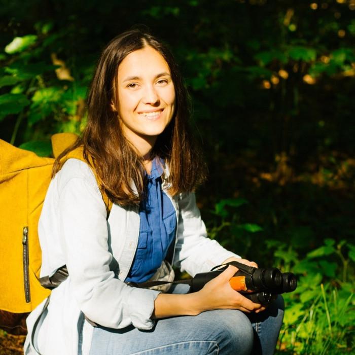 Ганна Кузьо, популяризаторка птахоспоглядання, орнітологиня